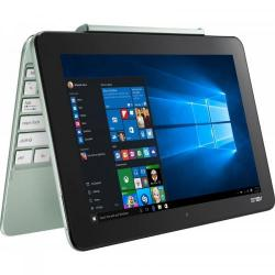 Laptop 2-in-1 ASUS Transformer Book T101HA, WXGA IPS Touch, Procesor Intel® Atom™ x5-Z8350, 10.1inch Touch, RAM 2GB, eMMC 64GB, Intel HD Graphics 400, Win 10 Home, Mint Green