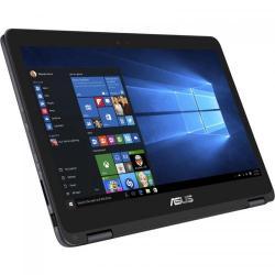 Laptop 2-in-1 Asus ZenBook Flip UX360CA-C4011T, Intel Core m3-6Y30, 13.3inch Touch, RAM 4GB, SSD 128GB, Intel HD Graphics 515, Windows 10, Gray