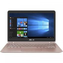 Laptop 2-in-1 Asus ZenBook Flip UX360UAK-C4196T, Intel Core i5-7200U, 13.3inch Touch, RAM 8GB, SSD 256GB, Intel HD Graphics 620, Windows 10, Rose