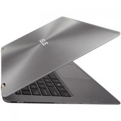 Laptop 2-in-1 Asus ZenBook Flip UX360UAK, Intel Core i5-7200U, 13.3inch Touch, RAM 8GB, SSD 256GB, Intel HD Graphics 620, Windows 10, Gray