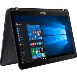 Laptop 2-in-1 Asus ZenBook Flip UX560UQ-FJ044T, Intel Core i7-7500U, 15.6inch Touch, RAM 8GB, SSD 512GB, nVidia GeForce 940MX 2GB, Windows 10, Black