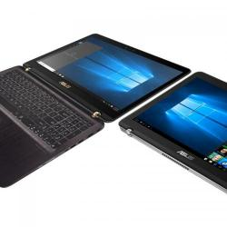 Laptop 2-in-1 Asus  ZenBook Flip UX560UQ-FZ042T, Intel Core i5-7200U, 15.6inch Touch, RAM 8GB, SSD 512GB, Intel HD Graphics 620, Windows 10, Black