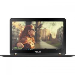 Laptop 2-in-1 Asus ZenBook Flip UX560UQ-FZ043T, Intel Core i7-7500U, 15.6inch Touch, RAM 8GB, SSD 512GB, nVidia GeForce 940MX 2GB, Windows 10, Black