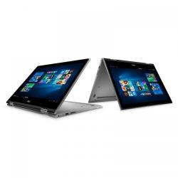 Laptop 2-in-1 DELL Inspiron 5578, Intel Core i3-7100U, 15.6inch Touch, RAM 4GB, HDD 500GB, Intel HD Graphics 620, Windows 10, Grey