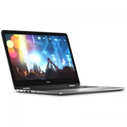 Laptop 2-in-1 Dell Inspiron 7779, Intel Core i5-7200U, 17.3inch Touch, RAM 12GB, HDD 1TB, nVidia GeForce 940MX 2GB, Windows 10, Silver-Grey