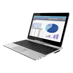 Laptop 2-in-1 HP EliteBook Revolve 810 G3, Intel Core i5-5300U, 11.6inch Touch, RAM 8GB, SSD 256GB, Intel HD Graphics 5500, Windows 10 Pro, Silver