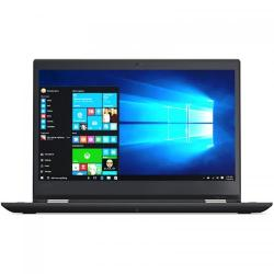 Laptop 2-in-1 Lenovo ThinkPad Yoga 370, Intel Core i5-7200U, 13.3inch Touch, RAM 8GB, SSD 256GB, Intel HD Graphics 620, Windows 10 Pro, Black