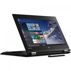 Laptop 2-in-1 Lenovo ThinkPad Yoga 460, Intel Core i7-6500U, 14inch Touch, RAM 16GB, SSD 240GB, Intel HD Graphics 520, Windows 10 Pro, Black