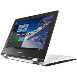 Laptop 2-in-1 Lenovo Yoga 300-11 (Flex 3), Intel Celeron Dual Core N3060, 11.6inch Touch, RAM 4GB, eMMC 32GB, Intel HD Graphics 400, Windows 10, White