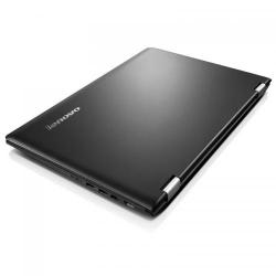 Laptop 2-in-1 Lenovo Yoga 500-15IBD (Flex 3), Intel Core i5-5200U, 15.6inch Touch, RAM 8GB, SSD 256GB, nVidia GeForce 920M 2GB, Windows 10, Black