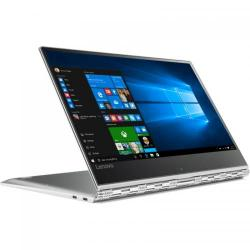 Laptop 2-in-1 Lenovo Yoga 910-13IKB, Intel Core i7-7200U, 13.9inch Touch, RAM 16GB, SSD 512GB, Intel HD Graphics 620, Windows 10, Silver