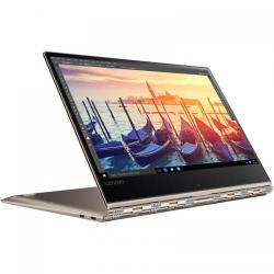 Laptop 2-in-1 Lenovo Yoga 910, Intel Core i7-7500U, 13.9inch Touch, RAM 8GB, SSD 512GB, Intel HD Graphics 620, Windows 10, Gold