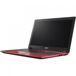 Laptop Acer Aspire A315-51, Intel Core i3-6006U, 15.6inch, RAM 4GB, HDD 500GB, Intel HD Graphics 520, Linux, Red