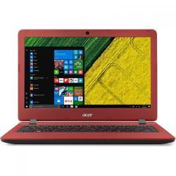 Laptop Acer Aspire ES1-332, Intel Celeron Quad Core N3450, 13.3inch, RAM 4GB, eMMC 64GB, Intel HD Graphics 500, Windows 10, Black-Red