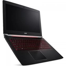 Laptop Acer Aspire Nitro VN7-593G, Intel Core i7-7700HQ, 15.6inch, RAM 16GB, HDD 1TB + SSD 512GB, nVidia GeForce GTX 1060 6GB, Linux, Obsidian Black