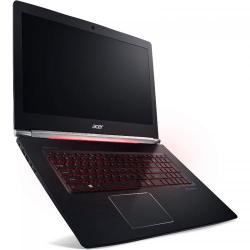 Laptop Acer Aspire Nitro VN7-793G, Intel Core i7-7700HQ, 17.3inch, RAM 16GB, HDD 1TB + SSD 512GB, nVidia GeForce GTX 1050 Ti 4GB, Linux, Obsidian Black