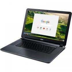 Laptop Acer Chromebook CB3-532, Intel Celeron Quad Core N3160, 15.6inch, RAM 4GB, eMMC 32GB, Intel HD Graphics 400, Chrome OS, Black