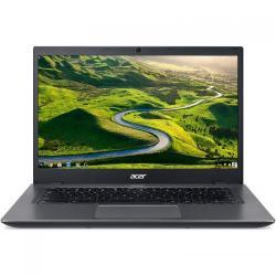 Laptop Acer CP5-471 Chromebook, Intel Celeron Dual Core 3855U, 14inch, RAM 4GB, eMMC 32GB, Intel HD Graphics 510, Chrome OS, Black