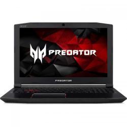 Laptop Acer  Predator Helios 300 G3-572, Intel Core i7-7700HQ, 15.6inch, RAM 8GB, SSD 256GB, nVidia GeForce GTX 1060 6GB, Linux, Black