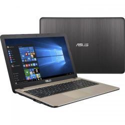 Laptop Asus A540SA-XX575T, Intel Celeron Dual Core N3060, 15.6inch, RAM 4GB, HDD 500GB, Intel HD Graphics 400, Windows 10, Chocolate Black