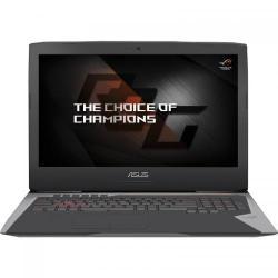 Laptop ASUS ROG G752VS(KBL)-BA369T, Intel Core i7-7820HQ, 17.3inch, RAM 32GB, HDD 1TB + SSD 2x 256GB, nVidia GeForce GTX 1070 8GB, Windows 10, Grey
