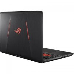 Laptop Asus ROG GL553VE-FY022, Intel Core i7-7700HQ, 15.6inch, RAM 8GB, HDD 1TB, nVidia GeForce GTX 1050 Ti 4GB, Endless OS, Black