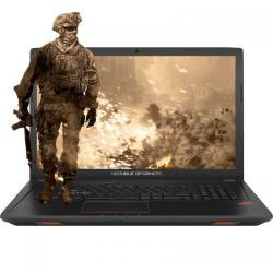 Laptop Asus ROG GL753VD-GC009, Intel Core i7-7700HQ, 17.3inch, RAM 8GB, HDD 1TB, nVidia GeForce GTX 1050 4GB, Endless OS, Black