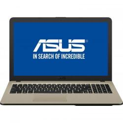 Laptop ASUS VivoBook 15 X540UB-DM1060, Intel Core i3-7020U, 15.6inch, RAM 4GB, SSD 256GB, nVidia GeForce MX110 2GB, Endless OS, Chocolate Black