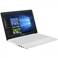 Laptop ASUS VivoBook E12 E203NA-FD017TS, Intel Celeron Dual Core N3350, 11.6inch, RAM 4GB, eMMC 32GB, Intel HD Graphics 500, Windows 10, Pearl White + Office 365 Personal 1an Inclus