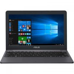 Laptop ASUS VivoBook E12 E203NA-FD111TS, Intel Celeron Dual-Core N3350, 11.6inch, RAM 4GB, eMMC 32GB, Intel HD Graphics 500, Windows 10, Star Grey + Office 365 Personal licenta 1an
