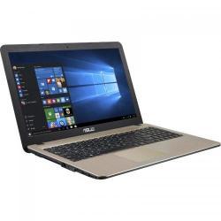 Laptop Asus X540SA-XX311, Intel Celeron Dual Core N3060, 15.6inch, RAM 4GB, HDD 500GB, Intel HD Graphics 400, Free Dos, Chocolate Black