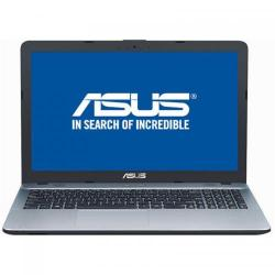Laptop Asus X541NA-GO017, Intel Celeron Dual Core N3350, 15.6inch, RAM 4GB, HDD 500GB, Intel HD Graphics 500, Endless OS, Silver