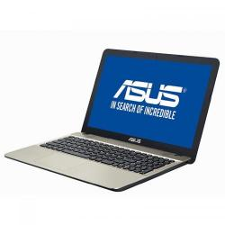 Laptop ASUS X541NA-GO120, Intel Celeron Dual Core N3350, 15.6inch, RAM 4GB, HDD 500GB, Intel HD Graphics 500, Endless OS, Chocolate Black