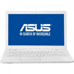 Laptop Asus X541UJ-GO425, Intel Core i3-6006U, 15.6inch, RAM 4GB, HDD 500GB, nVidia GeForce 920M 2GB, Free Dos, White