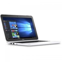 Laptop Dell Inspiron 3162, Intel Celeron Dual Core N3060, 11.6inch, RAM 4GB, eMMC 32GB, intel HD Graphics 400, Windows 10, White