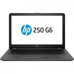 Laptop HP 250 G6, Intel Celeron Dual Core N3060, 15.6inch, RAM 4GB, HDD 500GB, Intel HD Graphics 400, Free Dos, Dark Ash, Silver