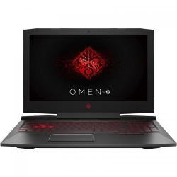 Laptop HP OMEN 15-ce0xx, Intel Core i7-7700HQ, 15.6inch, RAM 8GB, HDD 1TB, nVidia GeForce GTX 1050 Ti 4GB, Free Dos, Shadow Black