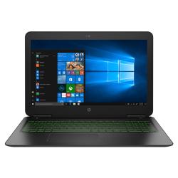 Laptop HP Pavilion 15-bc405nq, Intel Core i7-8550U, 15.6inch, RAM 8GB, HDD 1TB + SSD 128GB, nVidia GeForce GTX 1050 4GB, FreeDos, Black