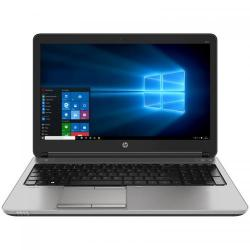 Laptop HP ProBook 650 G2, Intel Core i5-6200U, 15.6inch, RAM 4GB, HDD 500GB, Intel HD Graphics 520, Windows 7 Pro + Windows 10 Pro, Black/Silver