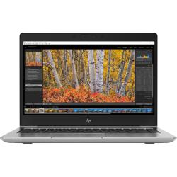 Laptop HP ZBook 14u G5, Intel Core i7-8550U, 14inch, RAM 8GB, SSD 256GB, Intel UHD Graphics 620, Windows 10 Pro, Dark Ash