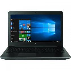 Laptop HP ZBook 15 G4, Intel Core i7-7700HQ, 15.6inch, RAM 16GB, HDD 1TB + SSD 256GB, nVidia Quadro M2200M 4GB, Windows 10 Pro, Black