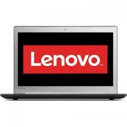 Laptop Lenovo IdeaPad 510-15IKB, Intel Core i5-7200U, 15.6inch, RAM 8GB, SSD 256GB, nVidia GeForce 940MX 4GB, Free DOS, Gun Metal