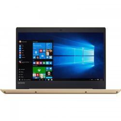 Laptop Lenovo IdeaPad 520S-14IKB, Intel Core i7-7500U, 14inch, RAM 8GB, HDD 1TB + SSD 128GB, Intel HD Graphics 620, Windows 10, Champagne Gold