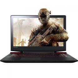 Laptop Lenovo Ideapad Y700-15ISK, Intel Core i7-6700HQ, 15.6inch, RAM 8GB, HDD 1TB, nVidia GeForce GTX 960M 4GB, Free Dos, Black