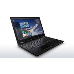 Laptop Lenovo ThinkPad P50, Intel Core i7-6820HQ, 15.6inch, RAM 16GB, SSD 512GB, nVidia Quadro M1000M 4GB, Windows 10 Pro, Black