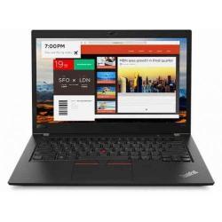 Laptop Lenovo ThinkPad T480s, Intel Core i7-8550U, 14inch, RAM 16GB, SSD 512GB, Intel UHD Graphics 620, Windows 10 Pro, Black