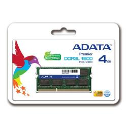 Memorie SO-DIMM A-Data 4GB DDR3-1600Mhz, CL11 Retail
