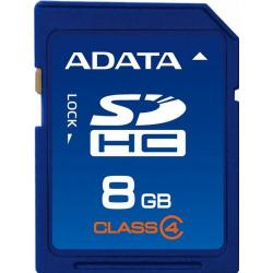 Memory Card A-Data SDHC, 8GB