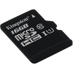 Memory Card Kingston microSDHC 16GB UHS-I, class 10