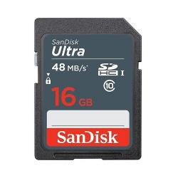Memory Card SanDisk Ultra SDHC, 16GB, Class 10